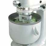 KitchenAid KICA0WH Ice Cream Maker Attachment for Stand Mixer