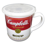 Campbell's Soup 14 Ounce Microwaveable Travel Mug