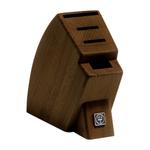 Wusthof Walnut Mobile 4-Slot Knife Block