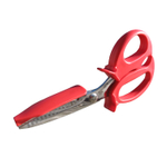 SeaScissors Red and Stainless Steel Original Lobster and Crab Shears