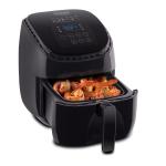 NuWave Brio Black 3 Quart Digital Air Fryer with 3 Piece Gourmet Accessory Kit