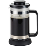 Bonjour Riviera 8 Cup Black French Press with Coaster