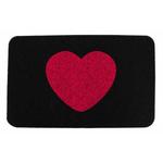 Kikkerland Heart Doormat, 30 X 18 Inch