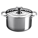 Le Creuset Tri-Ply Stainless Steel 3 Quart Casserole Pan with Lid