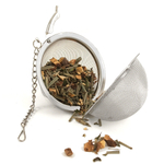 Stainless Steel Mesh Tea Ball Infuser with Chain
