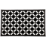 Entryways Jewels Recycled Rubber 18 x 30 Inch Doormat