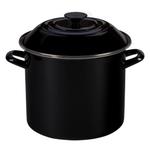 Le Creuset Black Onyx Enamel on Steel 10 Quart Stockpot