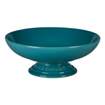 Le Creuset Caribbean Stoneware Footed Serving Bowl
