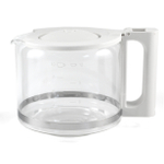 Salton White Glass Coffee Carafe