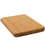 Compact Solid Bamboo Bar Cutting Board - 5 X 8""