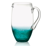 Artland Fizzy Teal Glass 1.9 Quart Pitcher