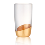 Artland Luxe Gold 18 Ounce Highball Glass