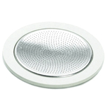 Bialetti Moka Express Replacement Gasket and Filter For 12 Cup Stovetop Espresso Coffee Makers