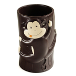 Mainstays Monkey Resin 9.1 Ounce Bathroom Tumbler