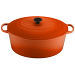 Le Creuset Signature Flame Enameled Cast Iron 15.5 Quart Goose Pot