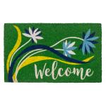 Entryways Non-slip Coir 17 x 30 Welcome Breeze Doormat