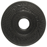 Old Dutch Matte Black Cast Iron Round Hobnail Trivet, 5.5 Inch