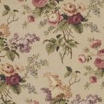 Waverly Oblong Tablecloth in Floral Garden Beige Linen