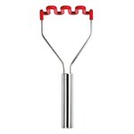 Tovolo Candy Apple Silicone Potato Masher