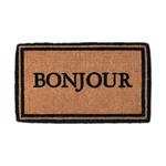 Entryways Bonjour Hand Woven Coir Doormat