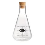 Artland Mixology Glass 25 Ounce Gin Decanter with Cork Stopper