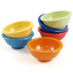 Oggi Multicolored Melamine Pinch Bowl