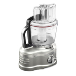 KitchenAid KFP1642SR ProLine Sugar Pearl Silver 16 Cup Food Processor with ExactSlice System
