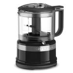 KitchenAid KFC3516OB Onyx Black 3.5 Cup Mini Food Processor