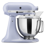 KitchenAid KSM150PSLR Artisan Series Lavender Cream 5 Quart Tilt-Head Stand Mixer with Pouring Shield