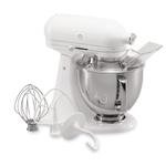 KitchenAid KSM150PSWW Artisan Series White on White 5 Quart Tilt Head Stand Mixer
