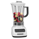 KitchenAid KSB1575WH White 5-Speed 60 Ounce Diamond Blender