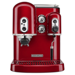 KitchenAid KES2102CA Pro Line Series Candy Apple Red Espresso Maker