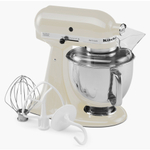 KitchenAid KSM150PSAC Artisan Series Almond Cream 5 Quart Tilt Head Stand Mixer
