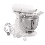 KitchenAid KSM150PSWH  Artisan Series White 5 Quart Tilt Head Stand Mixer