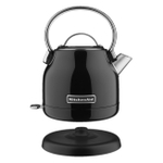 KitchenAid KEK1222OB Onyx Black Stainless Steel 1.25 Liter Electric Kettle