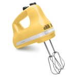 KitchenAid KHM512MY Ultra Power Majestic Yellow 5 Speed Hand Mixer