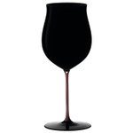 Riedel Sommeliers Burgundy Grand Cru Black and Red Wine Glass, 37 Ounce
