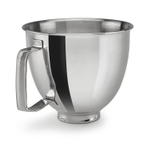 KitchenAid KSM35SSFP Polished Stainless Steel 3.5 Quart Bowl with Handle