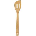 Helen Chen Asian Kitchen Bamboo Slotted Stir Fry Spatula, 13 Inch