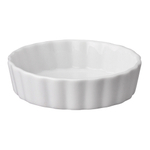 HIC Harold Import Co White Porcelain 5 Inch Round Ramekin
