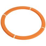 Casabella Orange Silicone Pie Crust Shield, 9 Inch