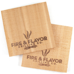"Fire & Flavor Western Red Cedar 6"" Mini Grilling Plank, Set of 2"