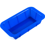 Baker's Secret Blue Silicone Loaf Pan