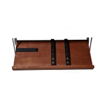 The Drop Block Cherry 22 x 9.5 Inch Magnetic Knife Storage Unit