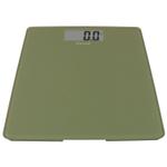 Escali Sage Green Glass Platform Digital Bathroom Scale