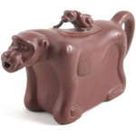 Monkey Yixing Clay 5 Ounce Teapot for One