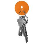 Three by Three Spot-On Mini Magnet Hook in Orange, Set of 4
