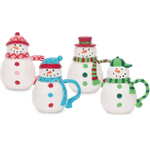 Boston Warehouse Let it Snow Covered Mug