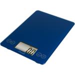 Escali Arti Electric Blue Glass Digital Kitchen Scale, 15 Pound