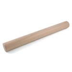 J.K. Adams Maple Plain Rolling Pin with 11.6 x 16.5 Inch Baking Mat